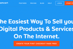 Cheap Second Hand Samcart Landing Page Software